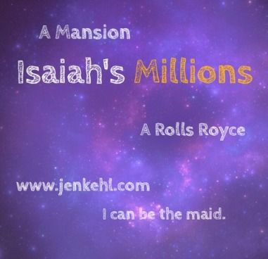 Isaiah's Millions graphic