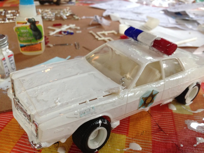 dukes of hazzard model car mommy fail