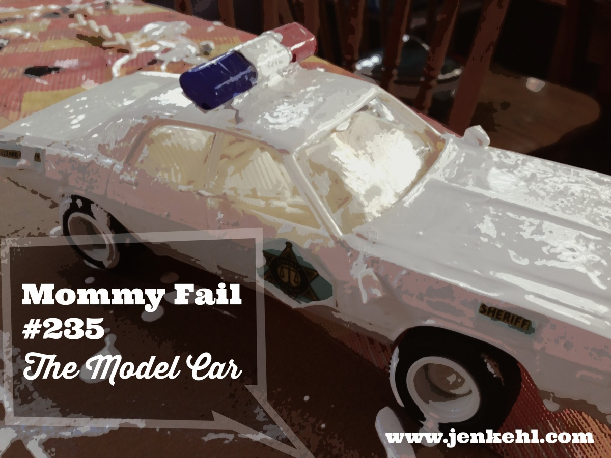 Mommy Fail Model Car Building With 8 year old