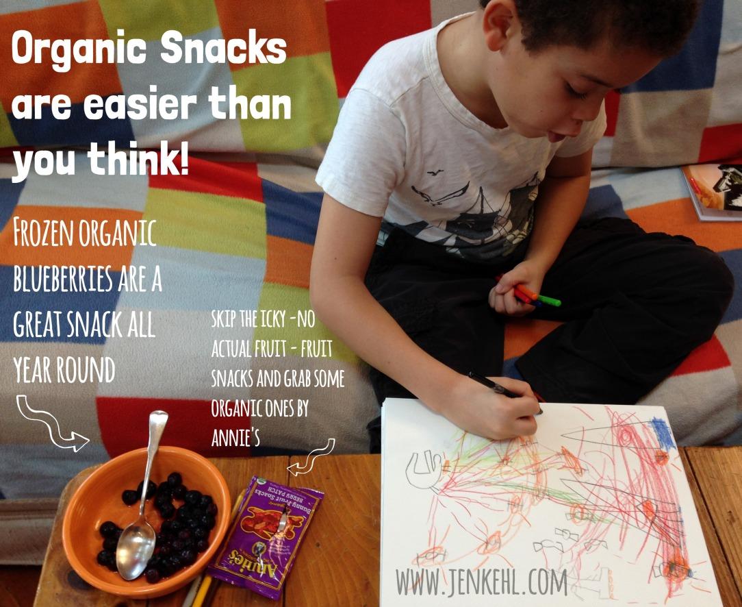 organic snacks green is universal